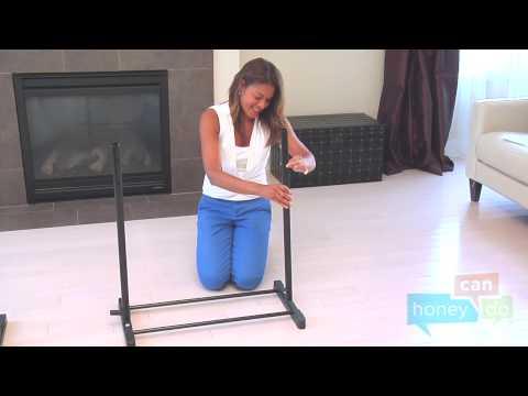 Honey-Can-Do GAR-03752 Rotating Garment Rack Instruction Video