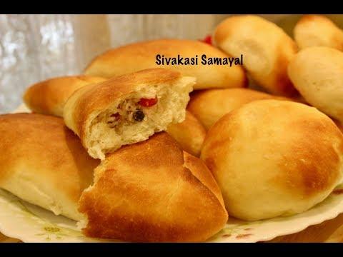 Thengai Bun(தேங்காய் பன்)Sivakasi Samayal / Recipe  - 474