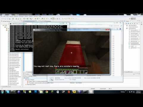 Minecraft Modding Made Easy: Custom Tools, Metal Material, and Bug Testing Recipes! Part 2 (HD)