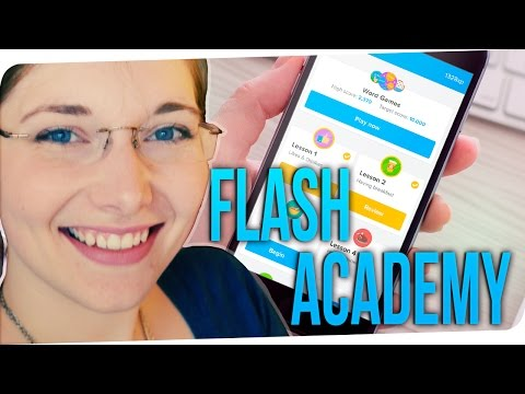 FlashAcademy In-depth Review + GIVEAWAY announcement! | Deutsch Für Euch