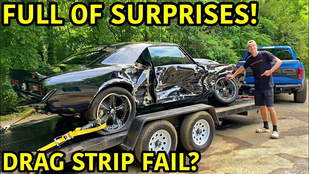 Rebuilding A Wrecked 1967 Chevrolet Camaro SS!!!