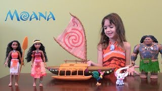 Moana Story: Disney Moana Toy Set, Maui