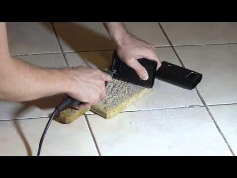 Cutting aluminium case with a Dremel