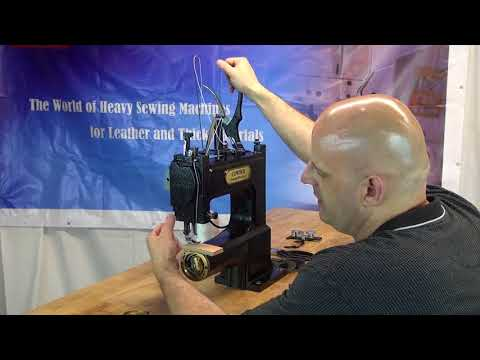How to operate CowBoy OUTLAW gun holster sewing machine