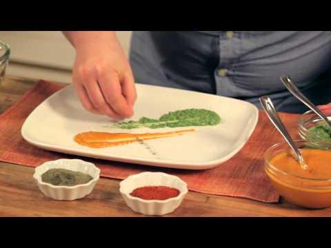 Plating techniques: Chef Doug McNish