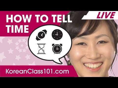 How to Tell Time in Korean? | Basic Korean Phrases