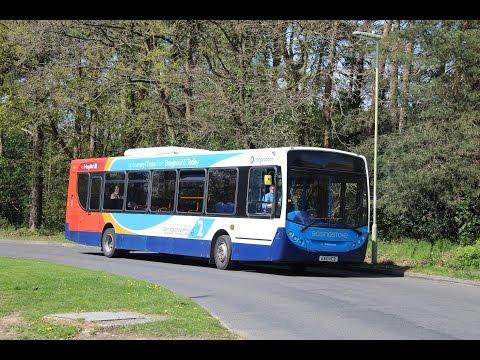 Stagecoach in Hampshire   Enviro 300/ADL E30D   2 to Basingstoke   27616 (GX10HCD)