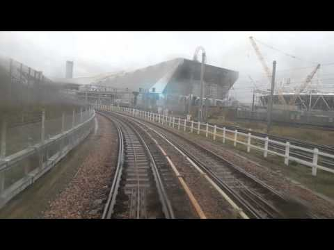 Stratford DLR trip past Olympic park