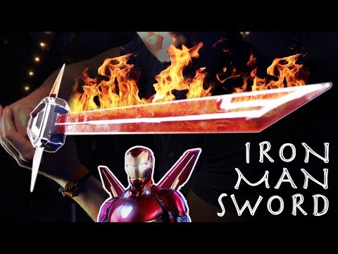 How To Make an IRON MAN SWORD! - Avengers Infinity War!!!