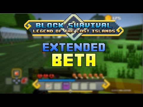 Block Survival | The Legend Of The Lost Island (Extended Demo)