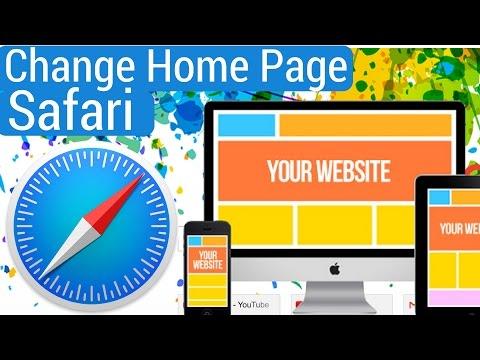 How to Change HomePage on Safari 2018