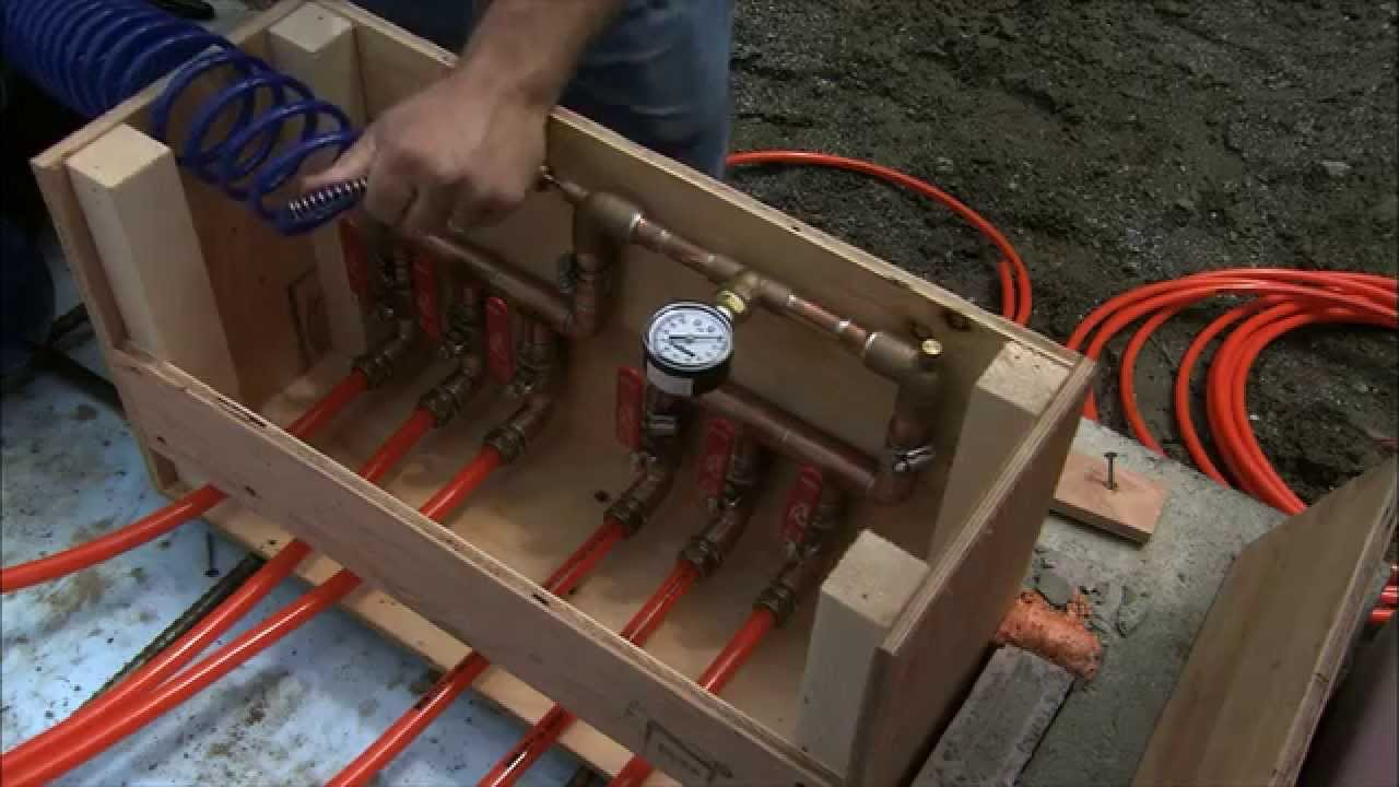 Radiant heating in a concrete slab. Let us show you how easy it can be to  install radiant heat!
