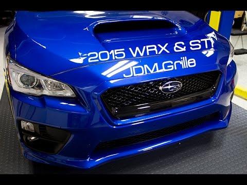 SubiSpeed - JDM Front Grille Install - 2015 Subaru WRX and STI