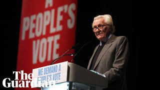 Lord Heseltine at People's Vote rally: 'We are the British patriots'