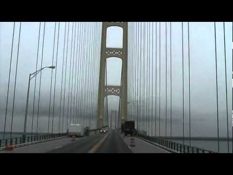 Driving a Truck Across the Mackinac Bridge