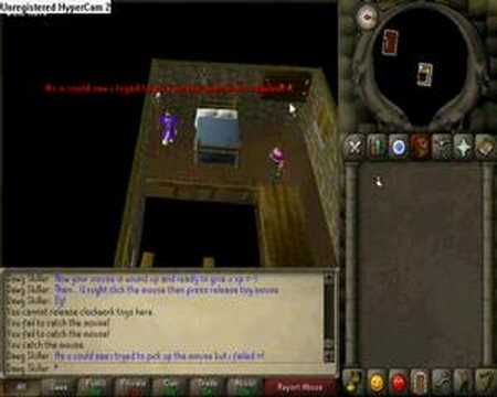 Dawgskiller- 1st video -How to get 1-20 agility fast!
