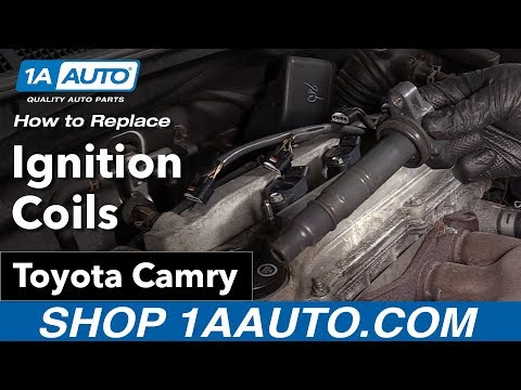 How to Replace Install Ignition Coils 09 Toyota Camry