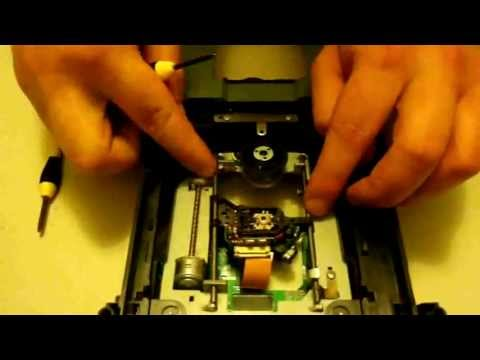 How to replace your Benq DVD disc drive worm motor. Xbox 360 Repair tutorial.