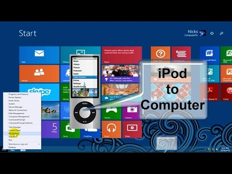 How to Transfer Songs from iPod to Computer Windows 8.1 - Free & Easy into iTunes