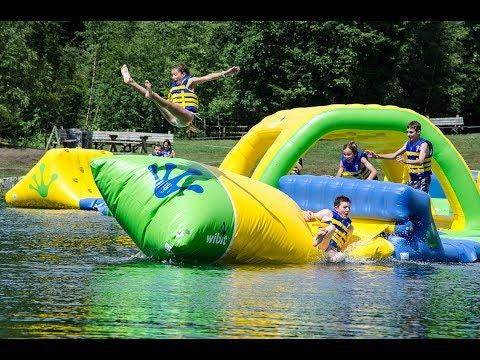 Parc aquatique Wibit Les Gets / Waterpark