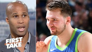 Luka Doncic isn't a top 5 player in the NBA – Richard Jefferson | First Take
