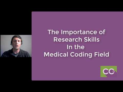 The Importance of Learning to do Research in Medical Coding