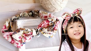 Download DIY Cotton Headband Tutorial - How To Make A Headband Out Of Fabric Video