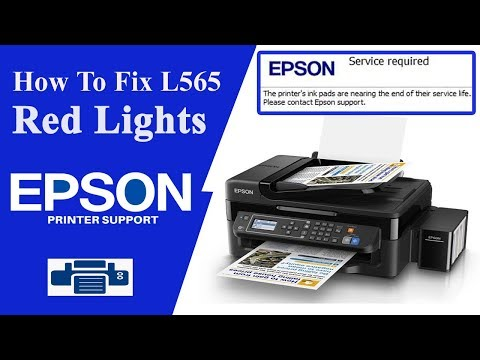 Epson l565 Resetter, L565 Service Required