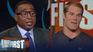 Greg Olsen details how Cam elevated his game, talks Kyle Allen and more | NFL | FIRST THINGS FIRST