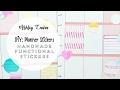 Download  DIY: Simple Handmade Planner Stickers | Ashley Laura MP3,3GP,MP4
