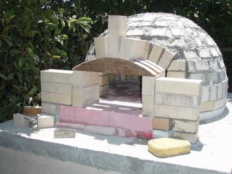 building a pizza oven dome
