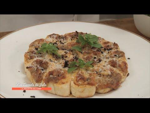 Recette - Pizza « rotolino » de Thierry Marx - Les Carnets de Julie - Pizza à la carte !
