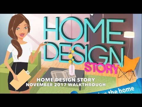 Home Design Story Walkthrough November 2017