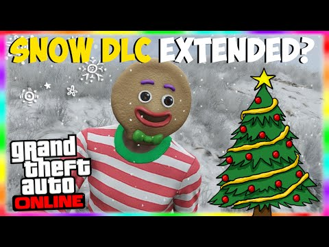 GTA 5 Online: Snow & Christmas DLC to Be Extended?! Longer Holiday DLC Due to Lizard Squad!
