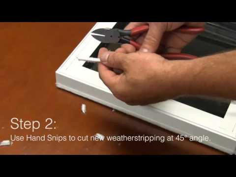 Replacing Weatherstripping: Helpful video from Window Depot USA
