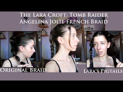 Lara Croft: Tomb Raider: 3 classic hair styles tutorial cosplay fancy dress.