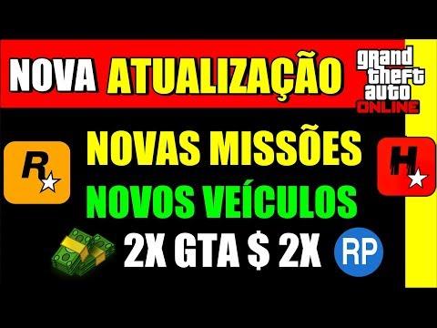 GTA V Online: NOVA ATUALIZAÇÃO, ROCKSTAR INCLUI ➕ MISSÕES ➕VEÍCULOS ➕DINHEIRO E RP (NEW DLC)