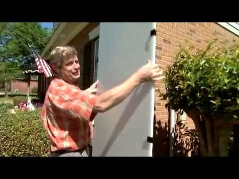 Lightweight Plastic Storm Shutters for Your Home