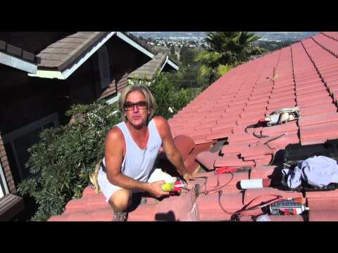 How to Install a Kitchen Vent Pipe Flashing on a Tile Roof 2 of 2