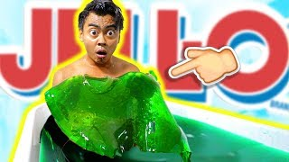 SUPER STINKY JELLO BATH CHALLENGE!