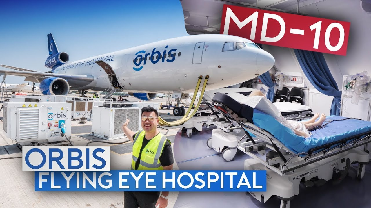 Mission Orbis - Flying Inside the World's Only Flying Hospital