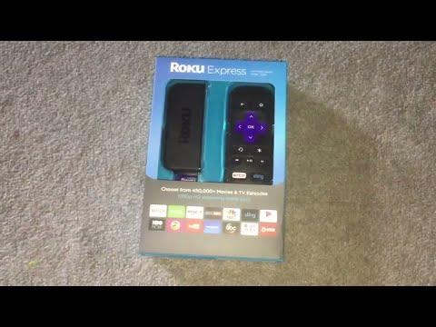 Roku Express Stick - Unboxing and Setup