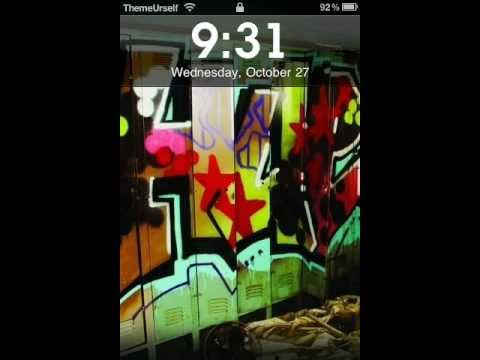 Best Lockscreen Fonts for iTouch/iPhone