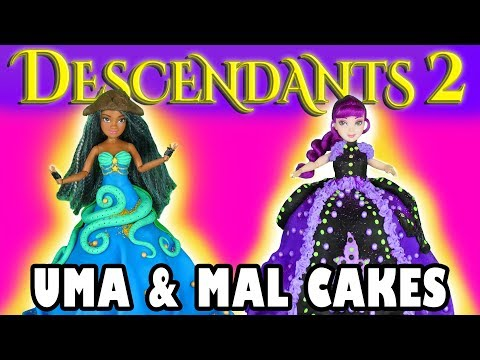Uma and Mal Cakes Descendants 2. Totally TV
