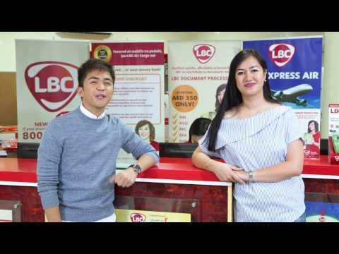 LBC Philippine Document Processing for OFWs