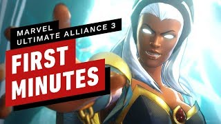 Download The First 17 Minutes of Marvel Ultimate Alliance 3 Video