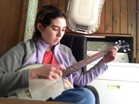 Snowdrop - clawhammer banjo