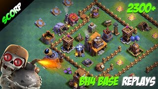 Clash Of Clans Builder Base Level 4 Best Layout Easy Wins 100 Win