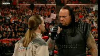 Shawn Michaels Challenges Undertaker