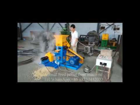 Floating Fish Feed Pellet Making Machine,Animal Feed Pellets Float Machine